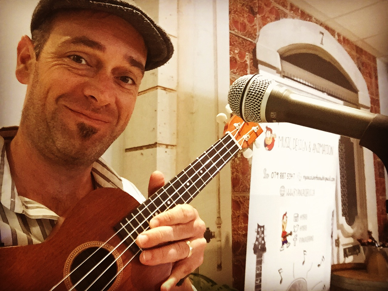 Who doesn't smile when a ukulele enters the room?